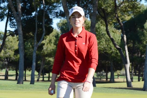 Luna Sobrón. Foto: OpenGolf.es