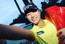 Carlota Ciganda suma un nuevo Top 20 en California donde volvió a vencer la nº1, Lydia Ko