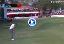 Este golpazo de Nacho Elvira fue uno de los cinco mejores en la 3ª jornada del Indian Open (VÍDEO)