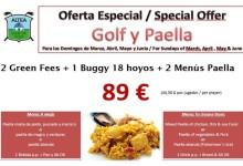 Altea GC, clásico de la CostaBlanca, ofrece el mejor plan dominical: golf y paella al mejor precio