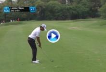 Este golpazo de Pablo Larrazábal es sin duda uno de los mejores del día en el Indian Open (VÍDEO)