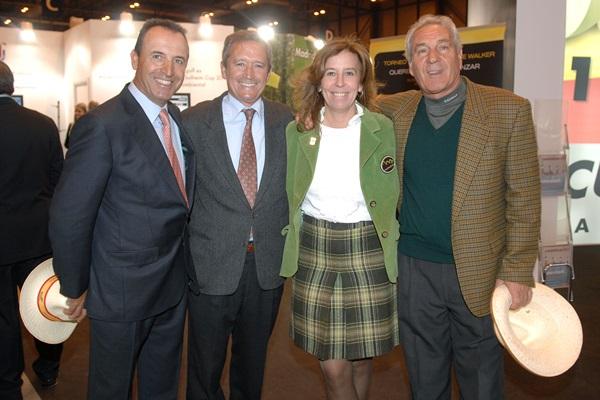 Rivero, Piñero, R. Aguirre y Cañizares. Foto: Luis Corralo