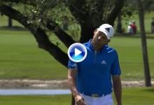 Alucinante: Sergio García estuvo a punto de enchufarla con el putt desde casi 42 metros (VÍDEO)