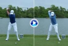 Compare a cámara super lenta el swing de dos grandes, Jason Day y Rory McIlroy (VÍDEO)