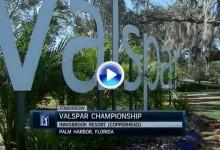 Valspar Champ: Estos fueron los golpes destacados en su 1ª Jornada. Incluye el golpe del día (VÍDEO)
