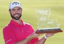 Wesley, el pequeño de los Bryan Bros., consigue su primer triunfo en el Web.com y sueña con el PGA