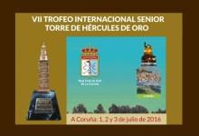 Abiertas las inscripciones en el prestigioso Trofeo Internacional Senior Torre de Hércules de Oro