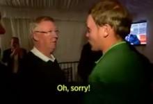 """Alex Ferguson a Danny Willett: """"Había apostado 8 mil £ a que Spieth ganaba el Masters"""" (Inc VÍDEO)"""