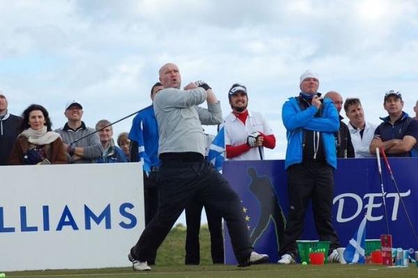Andreas Persson campeon en Escocia. Foto: Raquel Mateos