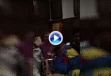 Beef defiende desde este jueves el título que logró en Valderrama y celebró así entre amigos (VÍDEO)