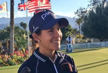 Azahara Muñoz toma el liderato en el comienzo del ANA Inspiration, primer Grande de la temporada