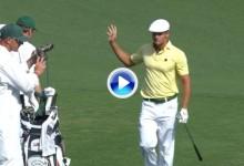 The Masters (J2): Resumen de los golpes destacados en el temido Amen Corner de Augusta (VÍDEO)