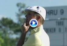 El Augusta National mostró su lado más endiablado en esta 2ªJ., golpes y gestos en el resumen (VÍDEO)