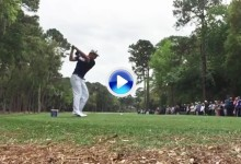 Así es el swing a cámara lenta de DeChambeau -el científico del golf-, 'Pro' desde esta semana (VÍDEO)