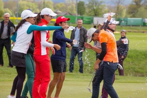 Carolina González gana el ASGI Ladies Open 2016 en Suiza. Foto: @LETAccess