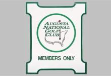 ¡Record! Letrero del Augusta National de la década de los 60 alcanza en una subasta los ¡22.000€!