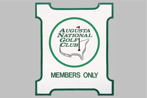 Cartel Augusta National. Foto: justcollecting.com