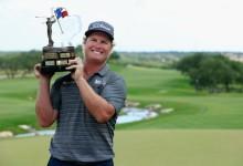 Hoffman hace de la perseverancia su mejor virtud y suma un triunfo de mérito en Texas, su 4º en el PGA