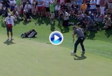 Este dramático putt desde casi 3 metros le dio la victoria a Hoffman en el Valero Texas Open (VÍDEO)