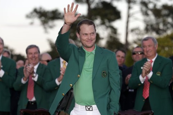 Danny Willett campeon en el Masters 2016. Foto @TheMasters