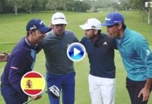 ¿Quién dijo que no se puede jugar rápido al golf? En Valderrama se batió el record del mundo (VÍDEO)