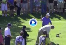 ¡GENIAL! Jack Nicklaus (76 años) estuvo a punto de hacer Hoyo en Uno en el Champions Tour (VÍDEO)