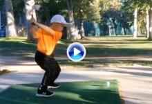 Se llama Jaden R. Soong, tiene 6 años y es todo un fenómeno, solo tienen que ver su swing (VÍDEO)