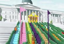 Trafalgar Square podría albergar un innovador campo de golf gracias al London Design Festival
