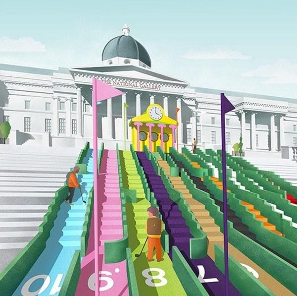 Reputados diseñadores como Paul Smith forman parte de este ambicioso proyecto. Foto: @LondonDesignFestival