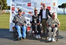 """El holandés Kluwen se adjudica el """"Terramar Open for Wheelchair Golfers"""" contra viento y marea"""