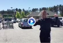 """Sergio se pone a tono para Augusta """"embocando"""" carros de la compra de un supermercado (VÍDEO)"""