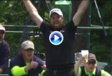 ¡¡Booooomm!! Fantástico Hoyo en Uno de Shane Lowry en el 16 de Augusta desde 181 yardas (VÍDEO)