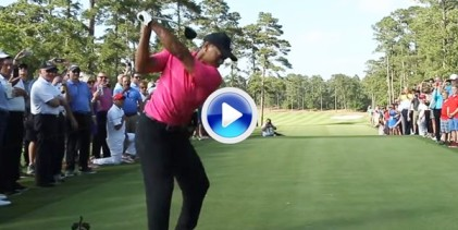 Tiger inauguró el Bluejack National de Houston con un tremendo golpe de salida desde el tee (VÍDEO)