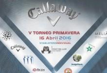 Grandes premios en la quinta edición del Torneo Primavera-Callaway en Font del Llop Golf