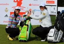 La castellonense Natalia Escuriola y la brasileña Victoria Lovelady comparten liderato en Pedreña