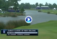 Zurich Classic: Estos fueron los mejores golpes en Nueva Orleans en su primera jornada (VÍDEO)