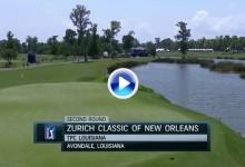 Zurich Classic: Estos fueron los mejores golpes en Nueva Orleans en su segunda jornada (VÍDEO)