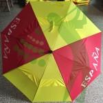 4 Paraguas equipo olimpico español