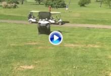 Este accidente de buggie se convirtió en viral. Cuenta con más de 350K reproducciones (VÍDEO)