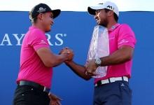 El PGA se volcó con la familia Cink en la campaña de concienciación del cáncer de mama