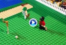 Reviva con piezas Lego el mágico chip de Tiger Woods en el Masters de Augusta de 2005 (VÍDEO)