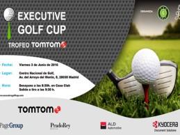 El 3 de junio la Executive Golf Cup – Trofeo TomTom tiene una cita en el Centro Nac., 2ª prueba punt.