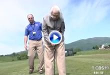 Florence Greville, ejemplo de inspiración. 102 años y sigue practicando el swing en el campo (VÍDEO)