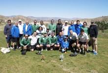 Veteranos del Hércules y del Elche se enfrentaron en el I Torneo Elche Oasis Mediterráneo de FutGolf