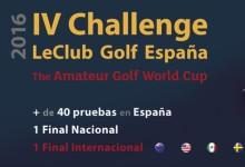 40 Torneos, una final nacional y otra internacional: En marcha el  IV Challenge LeClub Golf España