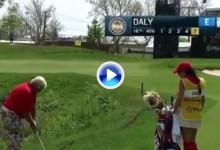 Daly Returns: firma un quíntuplebogey en un par 4 del Senior PGA Champ. en la 1ª ronda (VÍDEO)