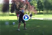 Vea el espectacular swing, a cámara lenta, del nº 1 del mundo amateur: Jon Rahm-bo (VÍDEO)