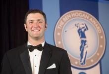 Jon Rahm ya es leyenda universitaria: es el 1º en recibir en dos ocasiones el Ben Hogan Award