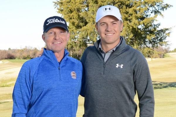 El texano ha estado preparando esta semana el putt con McCormick, su entrenador. Foto: @JordanSpieth