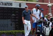 Spieth lidera y convence. Firma una de las mejores vueltas del día y tiene cerca su 8º título en el PGA